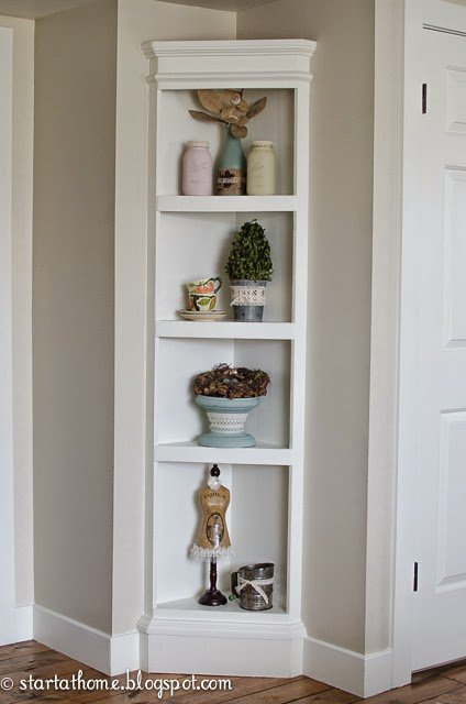 Bedroom Shelf Cabinet