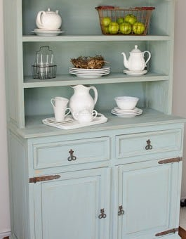 Duck Egg Blue Hutch