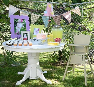 A 1st Birthday & Table Redo