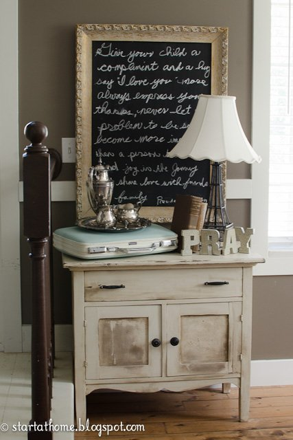 How to Paint a Suitcase with Chalk Paint
