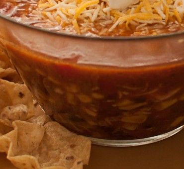 Easiest Crockpot Tortilla Soup EVER!!
