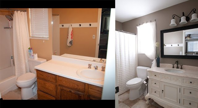 Master bathroom renovation - farmhouse bathroom