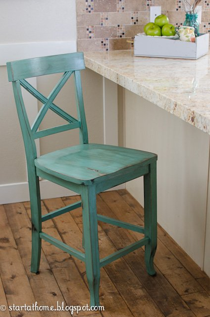 How to glaze with a stain