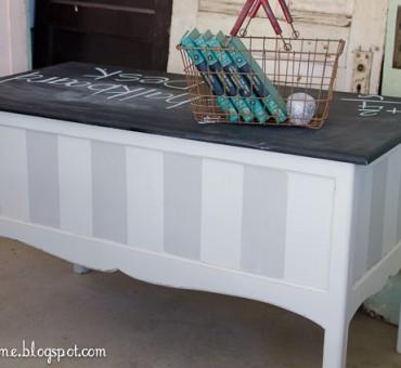 Chalkboard Desk