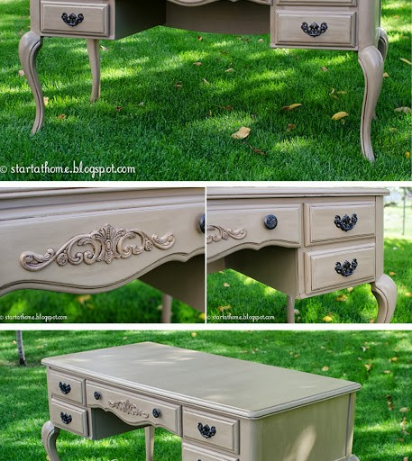 Refinished French Desk