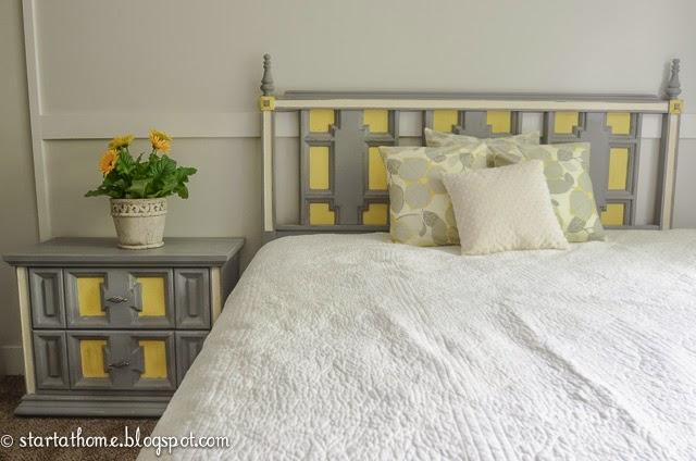 Queen/Full Bed Nightstand and Pillows Up For Grabs!!