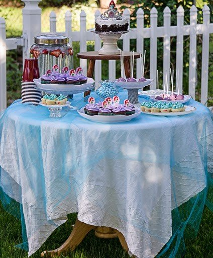 An Ariel Theme Party For Our Little Princess!