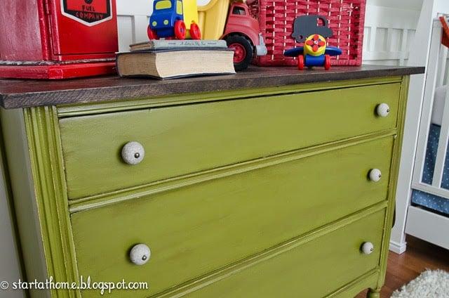 DIY- Replacing the top of a dresser