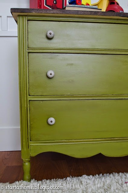 Replace the top of a dresser