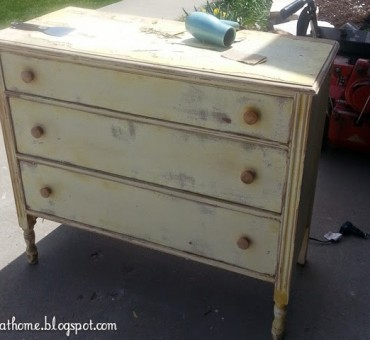 Replacing the Top of Baby Brothers Dresser & a Peek into the Nursery!