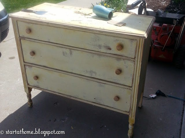 Replacing the top of a dresser