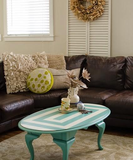 A Geometrical Coffee Table Anyone?!