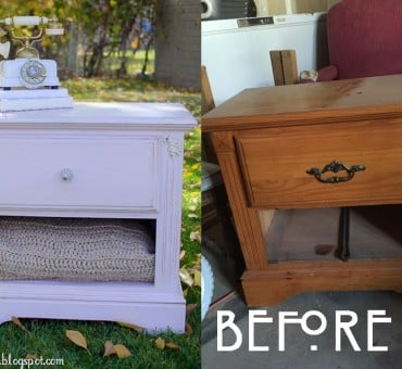 Old Nightstand, New Life