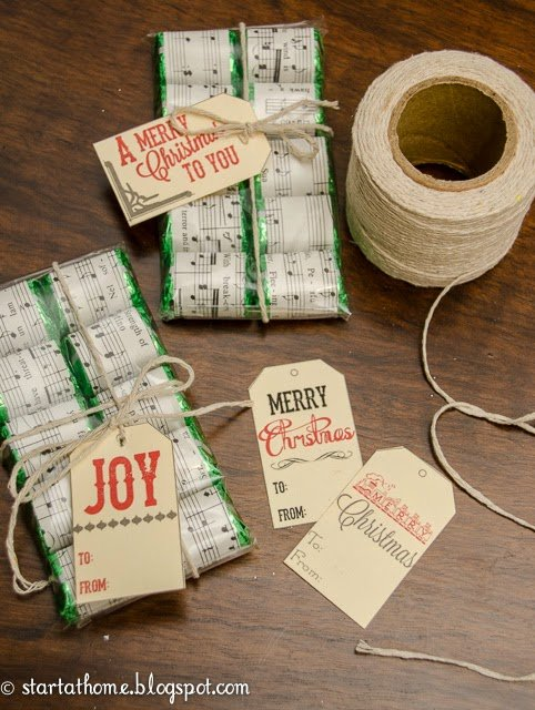 Make your own Vintage Christmas gifts