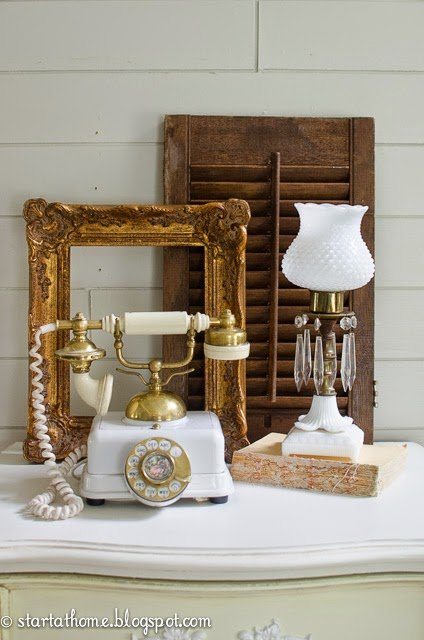French style decor accents