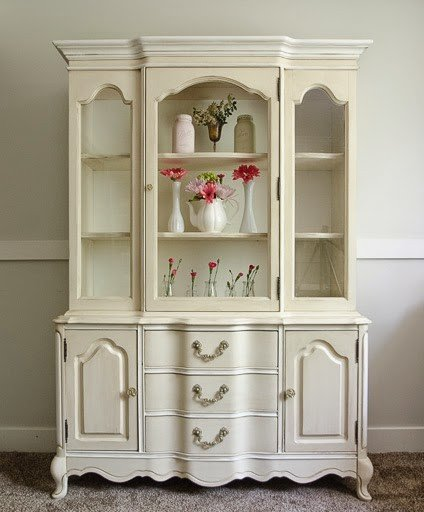 Refinished French Hutch!