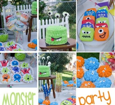 A Monster Party For Our Little Monster