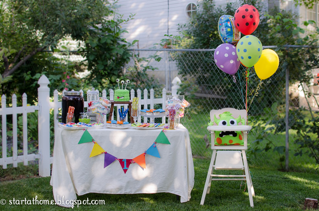 Monster Party Theme for A Little Boy
