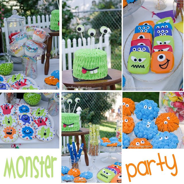 Monster Cupcakes Tutorial for Birthday Party
