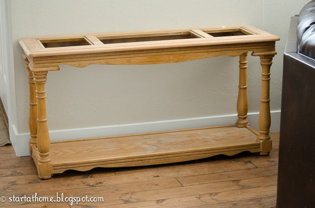 Pallet Top Sofa Table