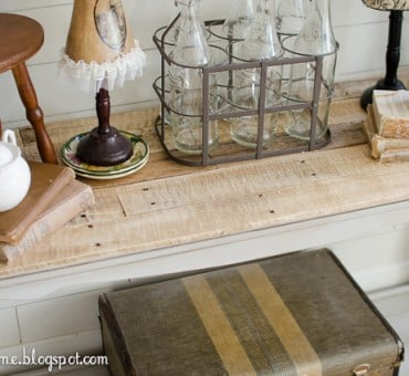 DIY Pallet Top Table