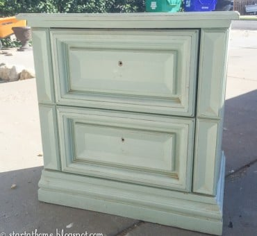 Mint Chest Makeover