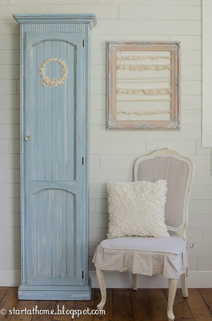 DiY Furniture Painting, Upcycled Curio Cabinet