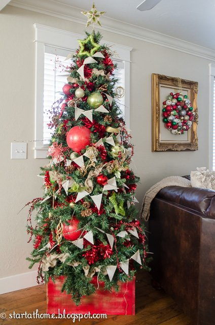 Budget friendly ways to decorate for Christmas