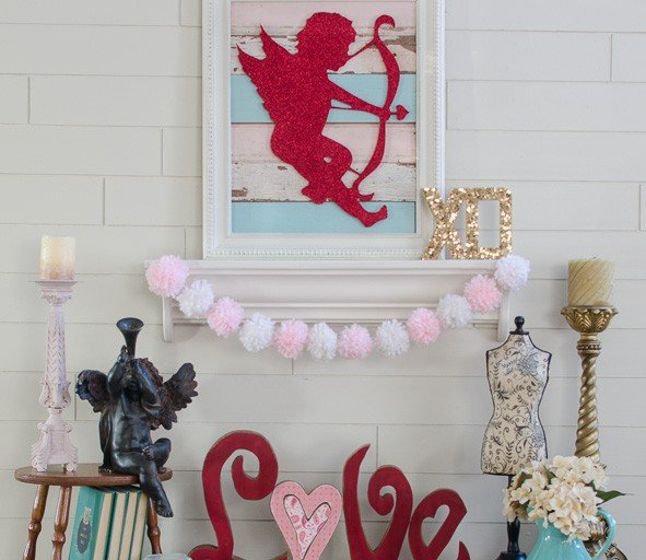 DIY Valentine's Day Decorating
