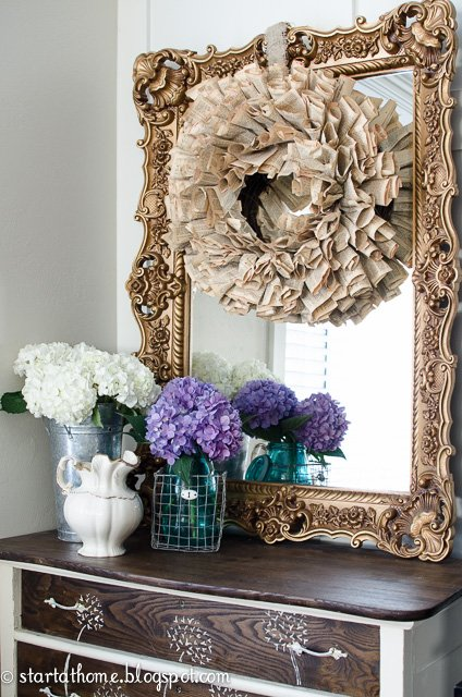 Using hydrangeas in your home decor