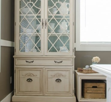 How To Add Color to Your Hutch