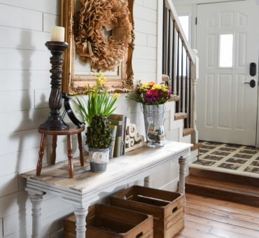 Top 5 Favorite DIY Entryways