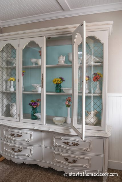 French Hutch Makeover DIY