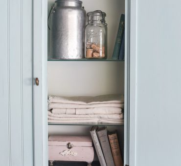 Chalk Painted Curio Cabinet