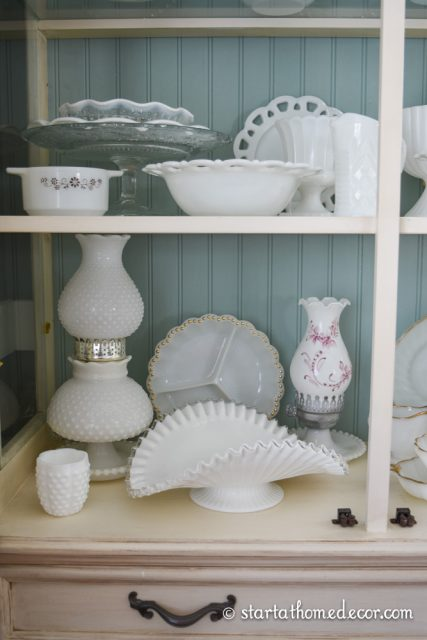 Different Types of Milk Glass