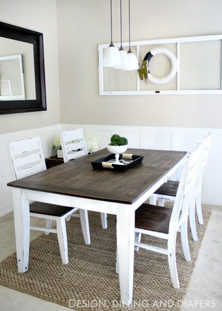DIY-Farmhouse-Table-Makeover