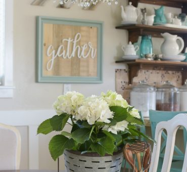 Decorating With Our Reclaimed Wood Signs