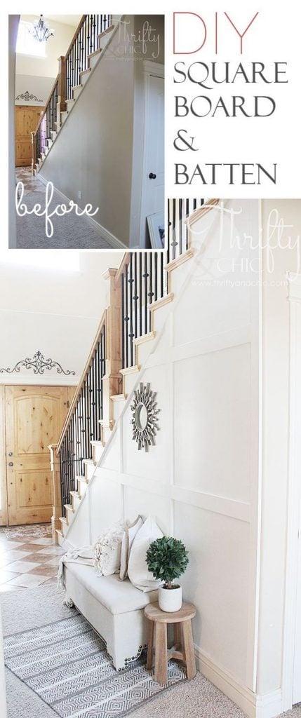 DIY entryway ideas on a budget
