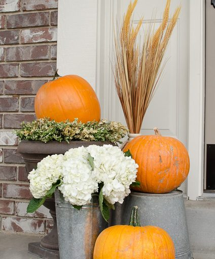 Fall Front Porch Inspirations