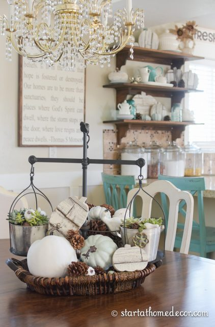 Fall Decor and Shiplap Pumpkins