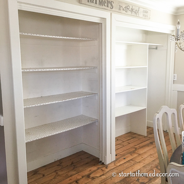 Farmhouse Pantry Overhaul on a Budget - Demo