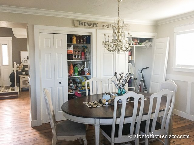 Farmhouse Pantry Overhaul on a Budget - Before
