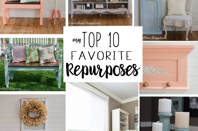 My Top 10 Favorite Repurposes