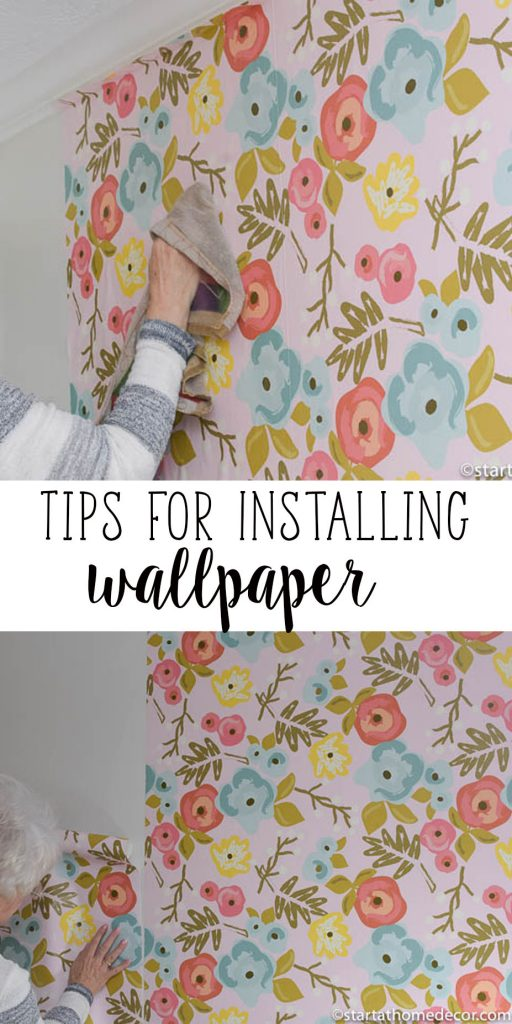 DIY install wallpaper