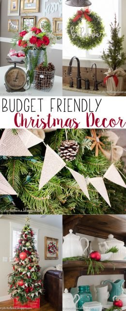 Budget friendly tips to decorate for Christmas