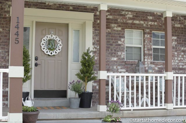 Tip and Trick for Adding Curb Appeal to Your Spring Front Porch