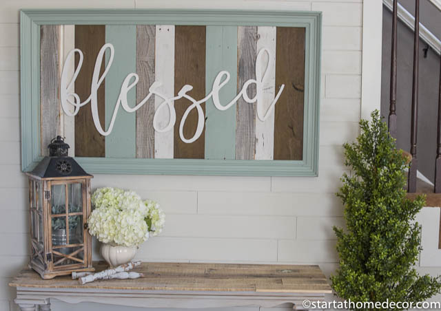 large reclaimed wood signs amp words start at home decor