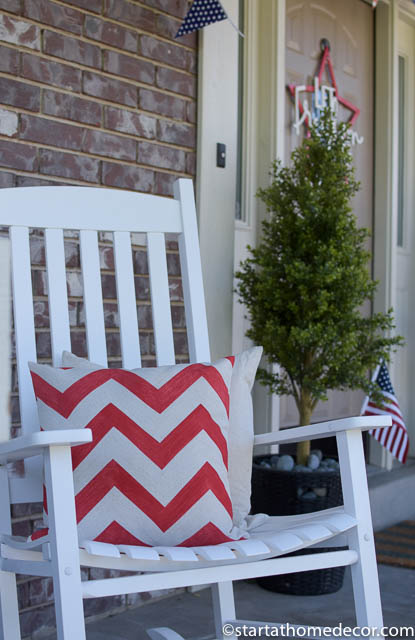 4th of July front porch | 4th of July front porch