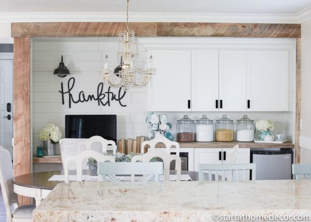 Farmhouse Pantry Overhaul on a Budget | Room Makeover | Farmhouse Design