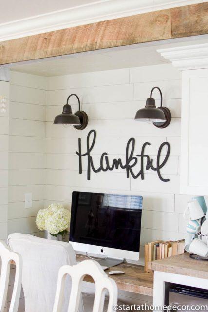 Farmhouse Pantry Overhaul on a Budget   Room Makeover   Farmhouse Design   Reclaimed Wood   Wood Beams